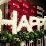 広島の、お店を素敵に飾ったよ!★紙で作るお花の資格も持ってます