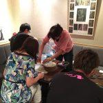 広島市でバルーンフラワー教室★初めてのバルーンフラワー教室無事に終わりました