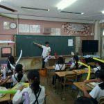 広島市の小学校のバルーンクラブ★今日は初めて動物を作ってみました