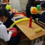 公立小学校のバルーンクラブ★バルーン3本でボールを作ってみたよ