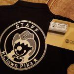 クラウンpikaのロゴ入りユニフォームと印鑑完成しました!★ついでに、おNewのシューズも届いたよ