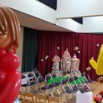 【広島】保育園で使った卒園式バルーン装飾を、入園式用の飾りに変えてみたよ★二度おいしいね!