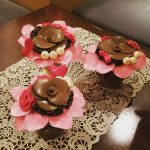 広島のバルーンフラワー教室★バレンタインに向けて作品作ったよ