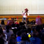 広島の小学校で親子活動★高学年の4年生でバルーン教室