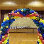 広島の保育園で運動会★先生達の想いを受けてバルーンアーチ作りました😊