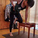 最近日課でやってる自宅トレーニング
