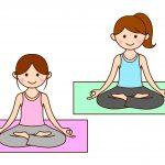 トレーニングにヨガ(yoga)を取り入れてます