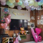 【広島市】子どもの誕生日パーティーの飾り付けしてきたよ!